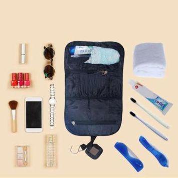 Swimming storage bag,Waterproof Foldable Women Makeup Cosmetic Bags Travel Beauty Toiletry Bag