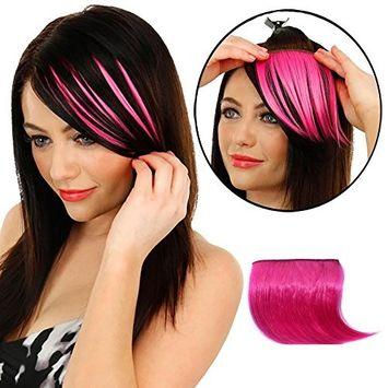 Short Wig -Hair Extension - Fheaven Girls Clip On Clip In Front Hair Bang Fringe Hair Extension Piece Thin