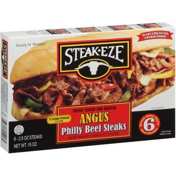 Steak-Eze® Angus Philly Beef Steaks 6 ct Box