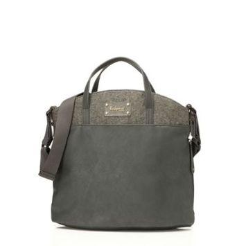 Infant Babymel 'Grace' Diaper Bag - Grey
