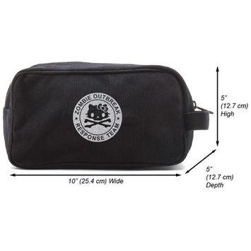 Zombie Outbreak Response Team Hello Kitty Travel Toiletry Bag,