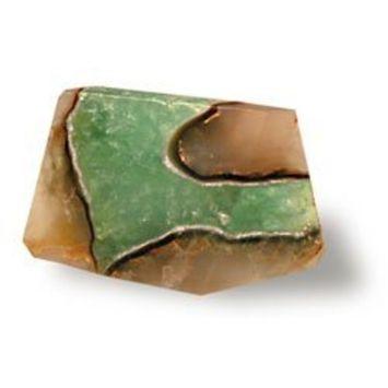 TS Pink Aqua Geode SoapRocks - Soap that looks like a Rock ~ 6 oz. Gem Rocks Birthstone Jabón Gemstone