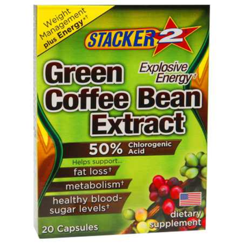 Stacker 2 Green Coffee Bean Extract, Capsules