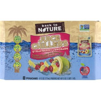 Back To Nature 1836154 6 fl. oz Berry Juice Chiller Drink Case of 5