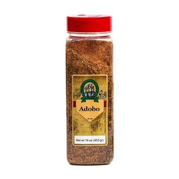 International Spice Premium Gourmet Spices- ADOBO SEASONING -16 oz [Adobo Seasoning 16 oz]