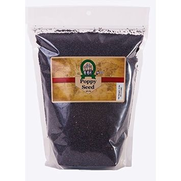 Whole Black Poppy Seeds 2 Lb- International Spice