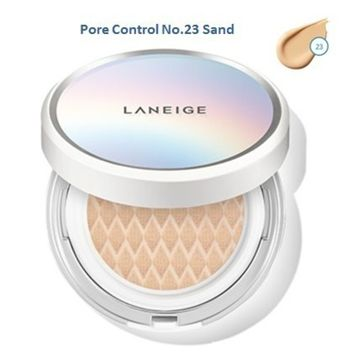 Laneige BB Cushion [Pore Control] NO. 23 Sand with a refill