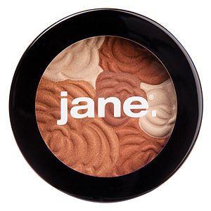Jane Cosmetics Multi-Colored Bronzing Powder (Golden/Natural)