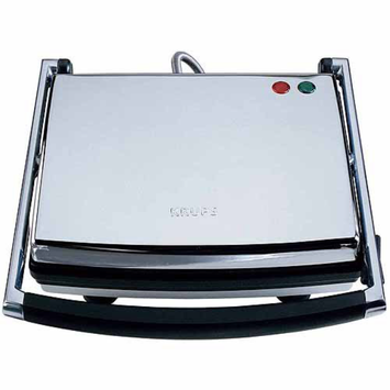 Krups KRUPS Universal Grill and Panini Maker, Silver