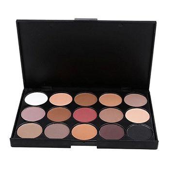 eshion Professional 15 Colors EyeShadow Palette Makeup Contouring Kit