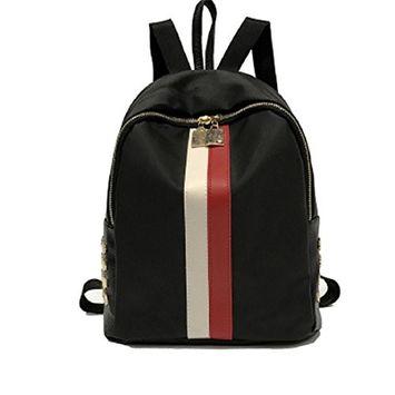 Fashion Women Girls Boys Leather Preppy Style School Bag Travel Backpack Bag-Back to School Backpacks School Bags