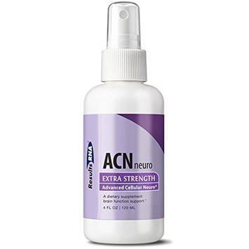 Results RNA ACN Neuro | Extra Strength Focus & Concentration Supplement for Improved Mental Alertness & Cognitive Function - 4oz Bottle