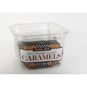 Trader Joe's Dark Chocolate Covered Caramels, 10 oz