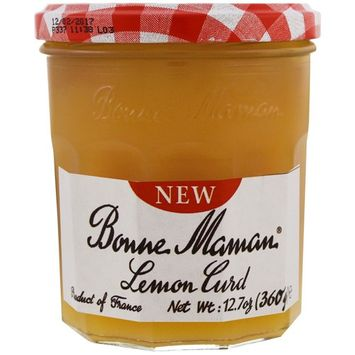 Bonne Maman, Lemon Curd, 12.7 oz (360 g) [Flavor : Lemon Curd]