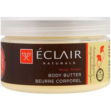 Eclair Naturals, Body Butter, Mango, 4 oz (113 g) [Scent : Mango]