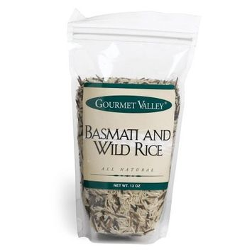 Gourmet Valley Specialty Rice Basmati & Wild Rice, 13-Ounce Pouches (Pack of 6)