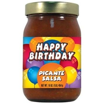 Hot Sauce Harry's Hot Sauce Harrys HSH8075 HSH HAPPY BIRTHDAY Picante Salsa - 16oz