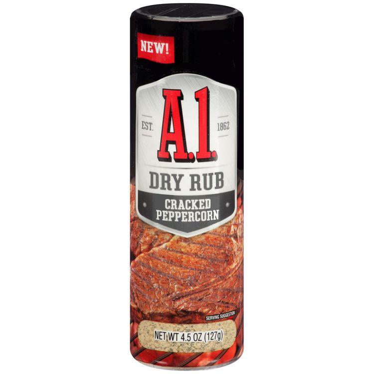 A.1. Cracked Peppercorn Dry Rub