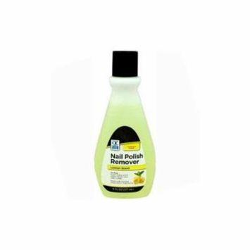 Quality Choice Nail Polish Remover Lemon Scent 6oz Each