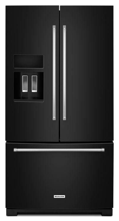 KitchenAid KRFF507EBL 29.0 Cu. Ft. Black French Door Refrigerator