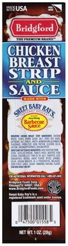 Bridgford® Chicken Breast Strip and Sauce