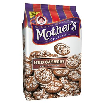 Mothers Mother's Iced Oatmeal Cookies 12 oz