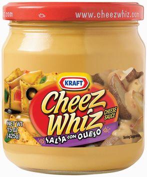 Kraft Cheez Whiz Salsa Con Queso Cheese Dip