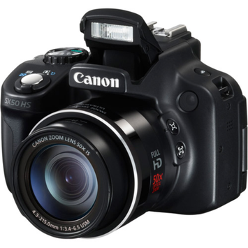 Canon PowerShot SX-50 12.1MP Digital Camera with 50x Optical Zoom -