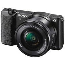 Sony a5100 Mirrorless Camera w/ 16-50mm Lens 32GB Black Bundle