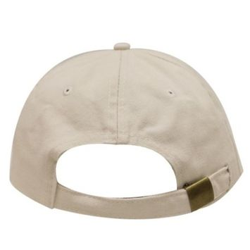 City Hunter C104 Pepperoni Pizza Cotton Baseball Dad Caps 14 Colors (Putty)