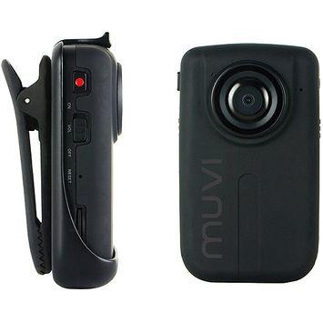 Veho VCC-005 MUVI-HD10 PRO 1080p Handsfree Camcorder + 8GB Micro SD