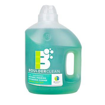 Boulder Clean Natural Foaming Bathroom Cleaner Refill, Lemon Lime Zest, 100 Oz