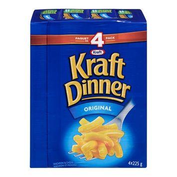 KD Kraft Dinner Original Macaroni and Cheese