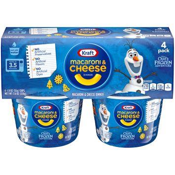 Kraft Olaf's Frozen Adventure Easy Mac Shapes Macaroni & Cheese