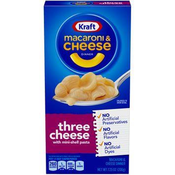 Kraft Three Cheese Macaroni & Cheese Dinner