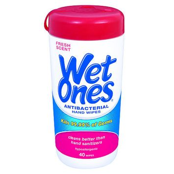 Playtex Wet Ones Canister - 40 Count