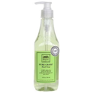 Naturally Clean Summer Grass Hand Soap (Green)