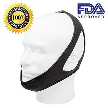 RightNight Anti Snoring Chin Strap devices - Chin Straps - Stop Snoring Device - Anti Snore Chin Strap - Snore Solution - Snore Device - Anti Snoring Chin Strap...