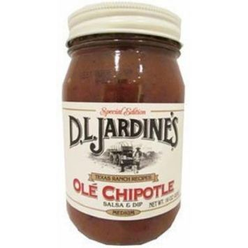 D.L. Jardine's Salsa, Ole Chipotle, 16 Ounce (Pack of 6)