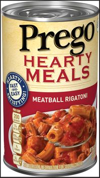 Prego® Hearty Meals Meatball Rigatoni