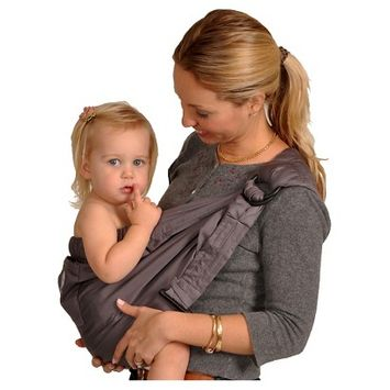 Balboa Baby Dr. Sears Baby Carrier Sling Color: Signature Gray