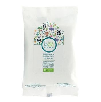 boo bamboo® Biodegradable 100% Bamboo Baby Wipes
