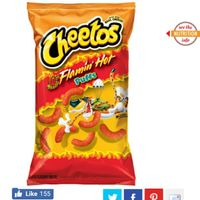 CHEETOS® Crunchy Flamin' Hot® Cheese Flavored Snacks uploaded by Brenda O.