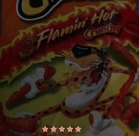 CHEETOS® Crunchy Flamin' Hot® Cheese Flavored Snacks uploaded by kelly M.