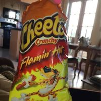 CHEETOS® Crunchy Flamin' Hot® Cheese Flavored Snacks uploaded by Barbara B.