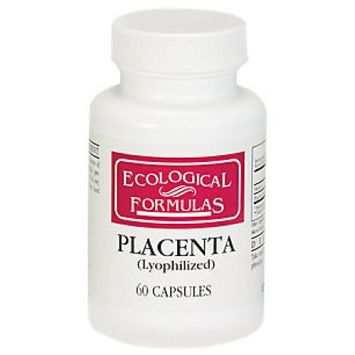 Ecological Formula Placenta 60 caps 250 mg