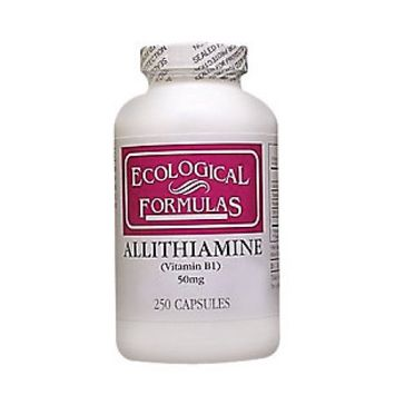 Ecological Formula Allithiamine (Vitamin B1) 50 mg 250 caps