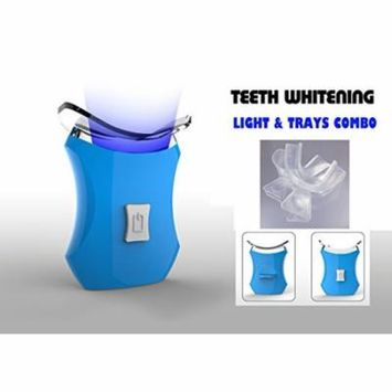 Teeth Whitening Accelerator Light, 6 X More Powerful with 2 Trays- VALUE PACK
