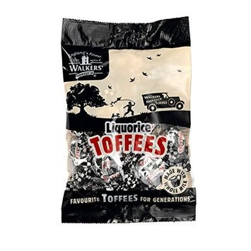 Walkers Nonsuch Licorice Toffees, 5.3 oz., Two bags
