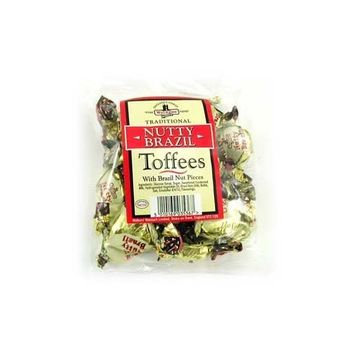 Walkers Nutty Brazil Nonsuch Toffee 150g